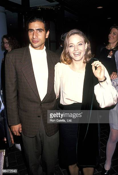 Marco Pasanella and Jodie Foster