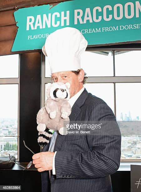 Marco Pierre White attends the 'Walkers 'Do Us A Flavour' finalists launch at Paramount Centre Point on July 28 2014 in London England