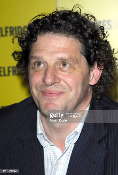 Marco Pierre White during Marco Pierre White Book Signing August 23 2006 at Selfridges in London Great Britain