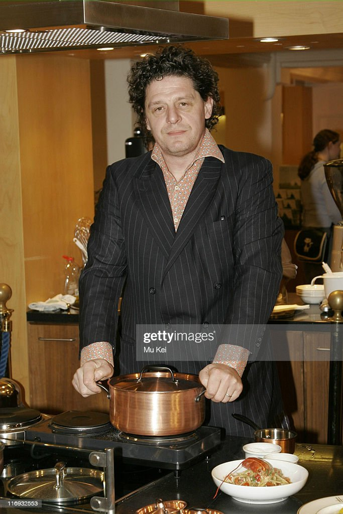 "Marco Pierre White Launches ""The White Heat Cookery Collection"" at Harrods -"
