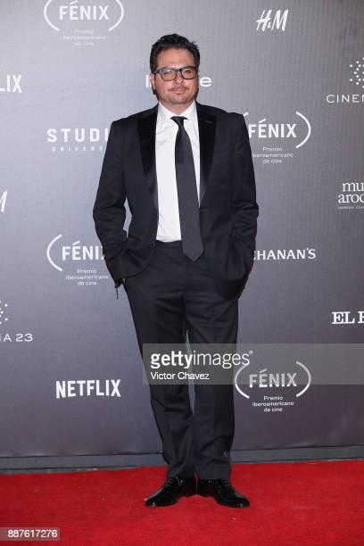 Marco Polo Constandse attends the Premio Iberoamericano De Cine Fenix 2017 at Teatro de La Ciudad on December 6 2017 in Mexico City Mexico