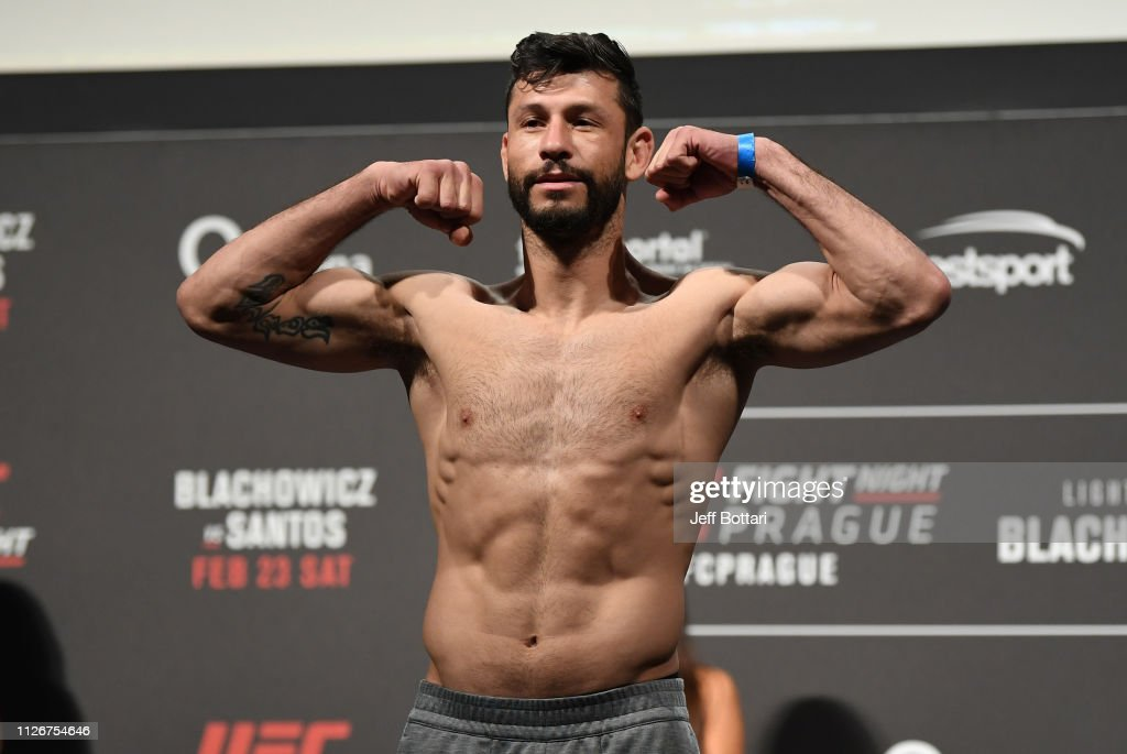 UFC Fight Night: Weigh-ins : Nieuwsfoto's