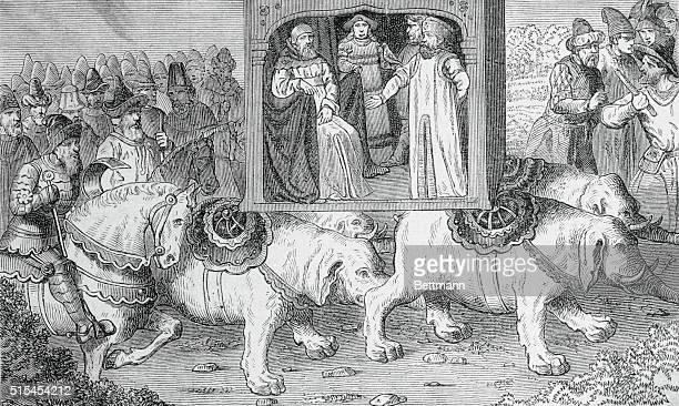 Marco Polo Venetian traveler with Kublai Khan Mongol leader in 1275