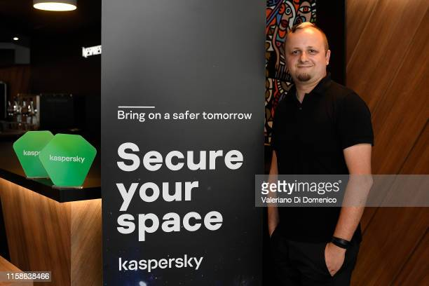 Marco Preuss attend M24 pop up radio at Kaspersky Lounge during Starmus V: A Giant Leap, sponsored by Kaspersky at Samsung Hall on June 27, 2019 in...