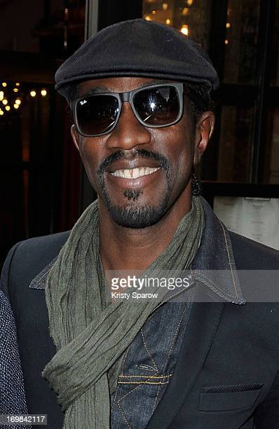 Marco Prince attends Noemie Lenoir's opening night at Le Crazy Horse on June 2, 2013 in Paris, France.