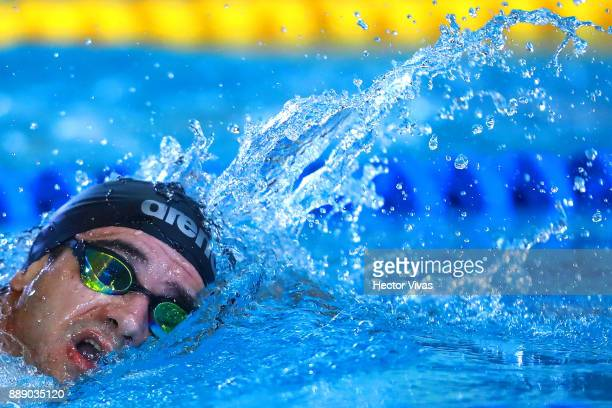 Marco Pulleiro of Argentina competes in Men's 400 m Freestyle S910 during day 6 of the Para Swimming World Championship Mexico City 2017 at Francisco...