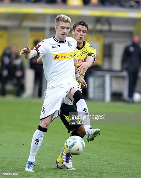 Marco Reus gegen Sebastian Kehl Borussia Dortmund Borussia Dortmund feiert die deutsche Fussballmeisterschaft durch den Sieg gegen Mönchengladbach...