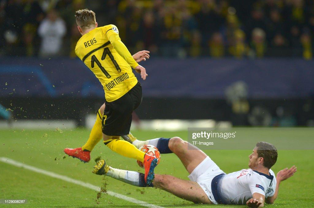 Borussia Dortmund v Tottenham Hotspur - UEFA Champions League Round of 16: Second Leg : News Photo