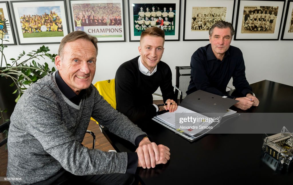 Marco Reus Signs Contract Extension for Borussia Dortmund Photos and ...