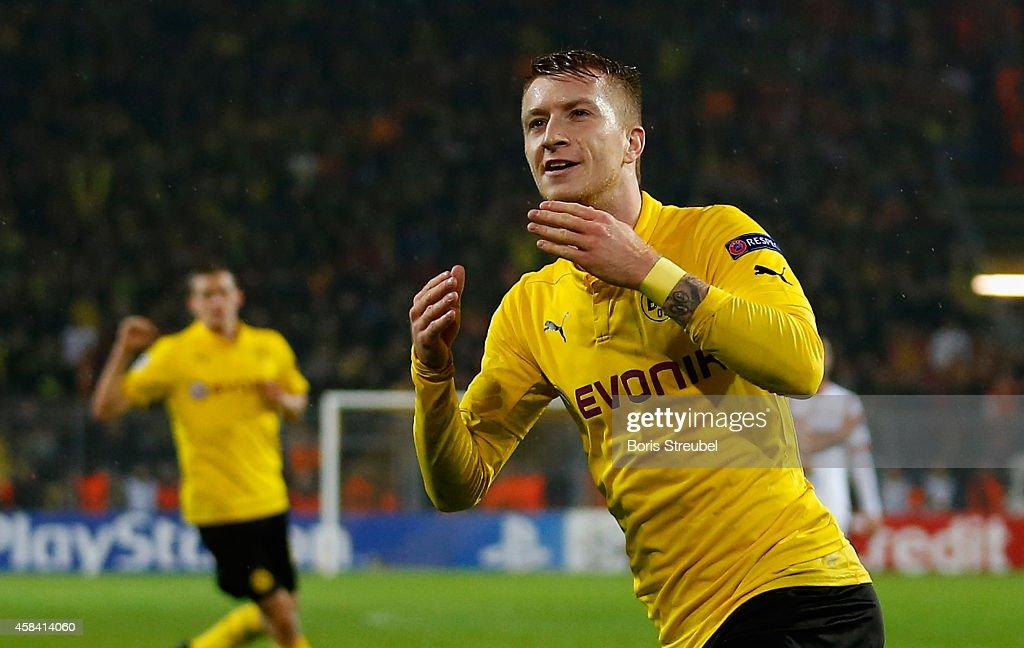 Borussia Dortmund v Galatasaray AS - UEFA Champions League : News Photo