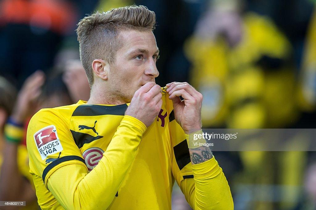"Bundesliga - ""Borussia Dortmund v Schalke 04"" : News Photo"