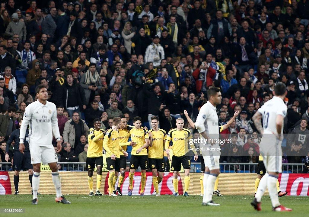 Real Madrid vs Borussia Dortmund - UEFA Champions League : News Photo