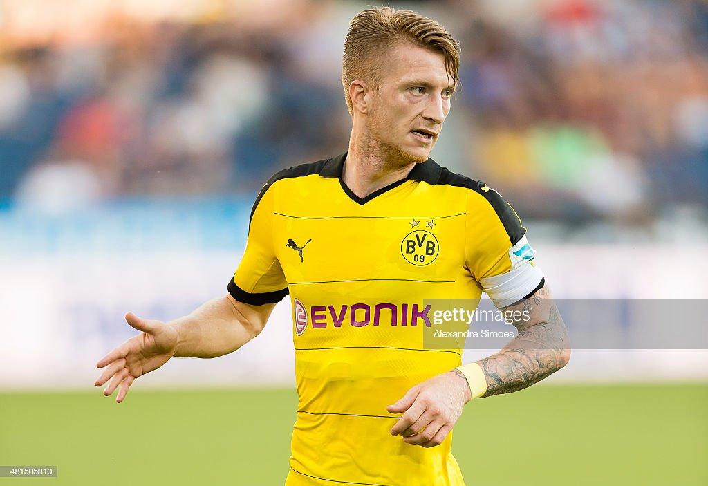 FC Luzern v Borussia Dortmund - Preseason Friendly : News Photo
