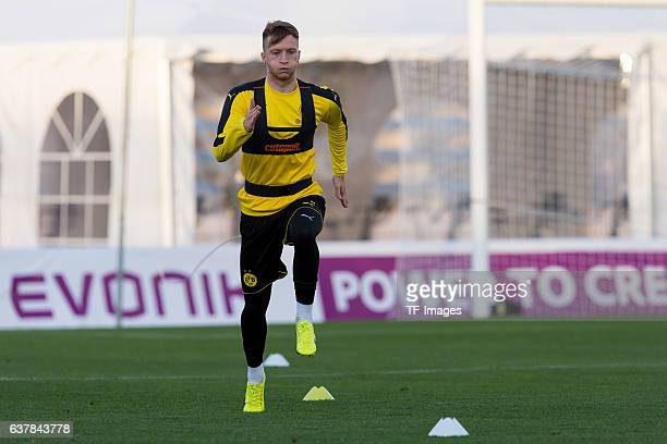 Marco Reus of Borussia Dortmund during the second day of the training camp at Estadio Municipal de Marbella on January 06, 2017 in Marbella, Spain.