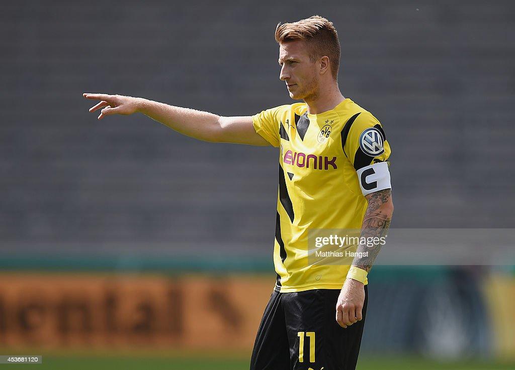 Stuttgarter Kickers v Borussia Dortmund - DFB Cup : News Photo