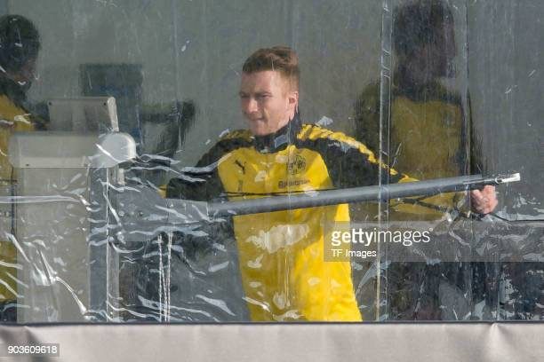 Marco Reus of Dortmund in action during the Borussia Dortmund training camp at Marbella Football Center on January 07 2018 in Marbella Spain