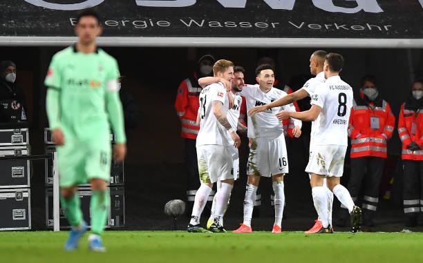 DEU: FC Augsburg v Borussia Moenchengladbach - Bundesliga