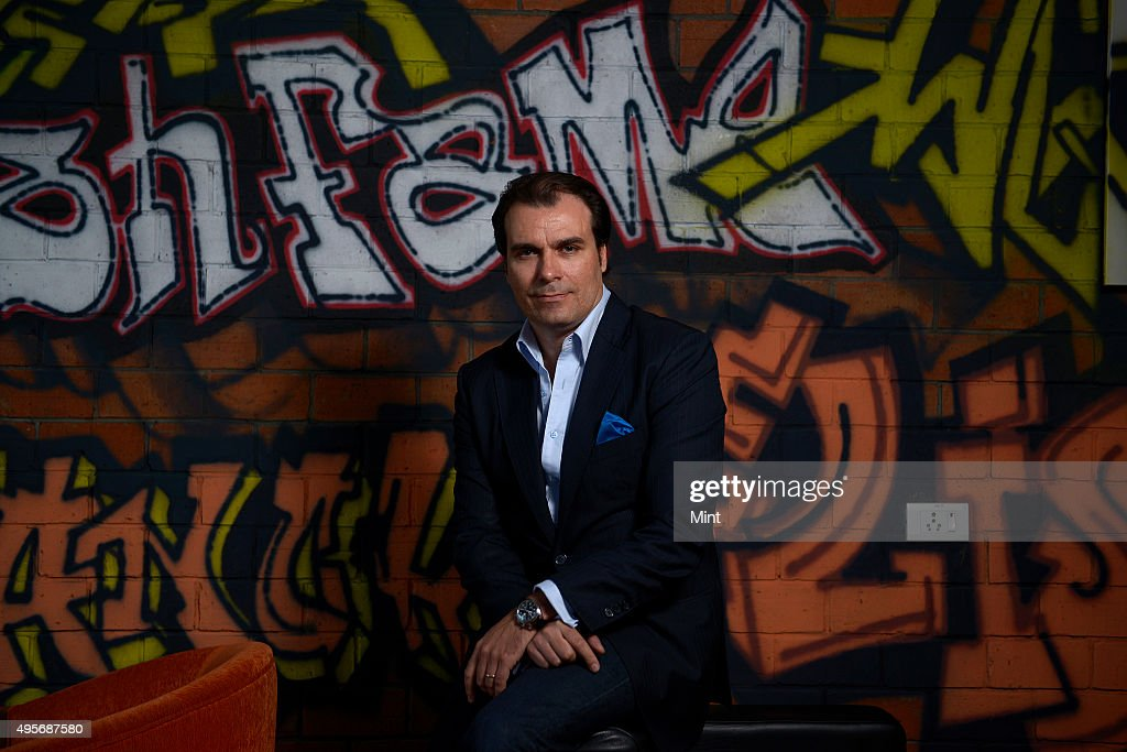 Marco Riggio, MD of Loreal Luxe India, LOréal poses for a
