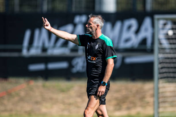 DEU: Borussia Moenchengladbach - Training Session