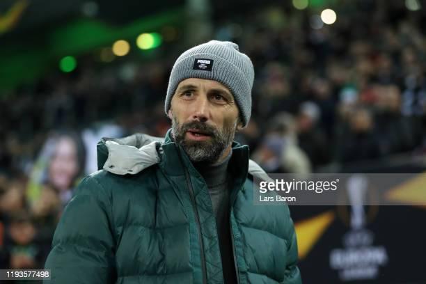 Marco Rose Head Coach of Borussia Monchengladbach during the UEFA Europa League group J match between Borussia Moenchengladbach and Istanbul...