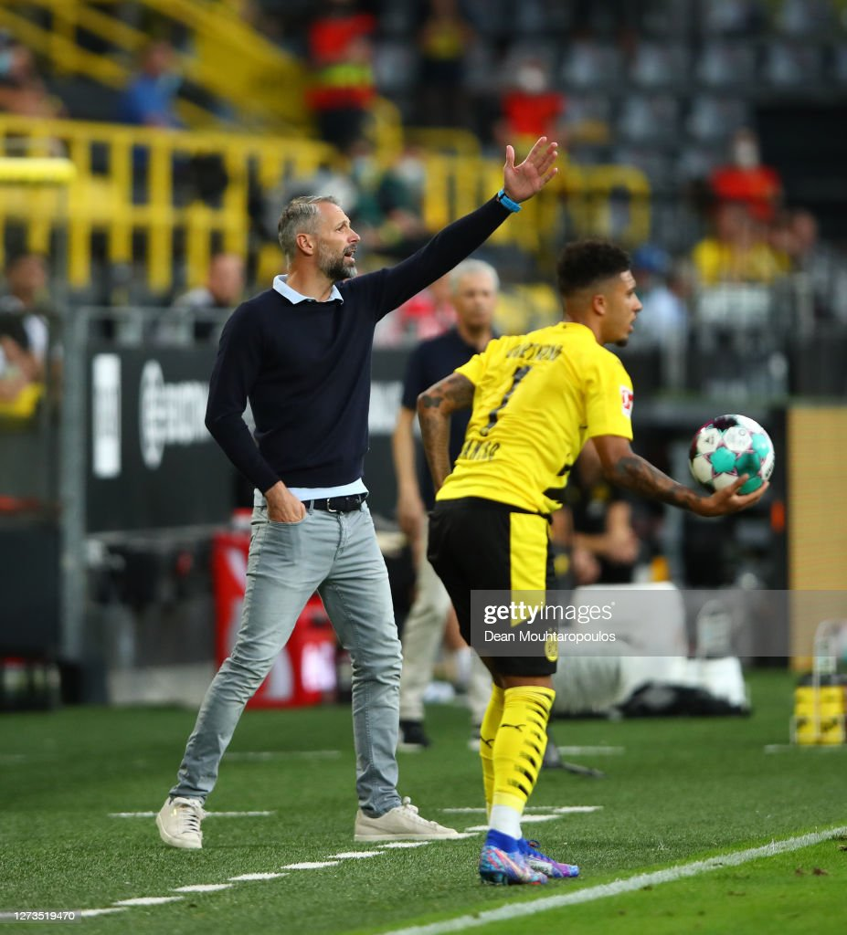 Marco Rose Head Coach Of Borussia Monchengladbach Reacts As Jadon News Photo Getty Images