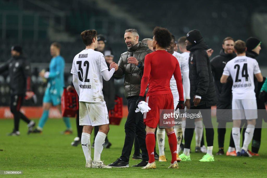 Borussia Moenchengladbach v FC Bayern Muenchen - Bundesliga : Photo d'actualité