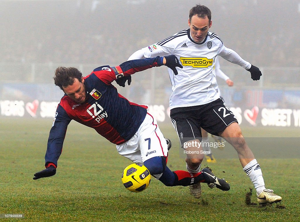 AC Cesena v Genoa CFC - Serie A : News Photo