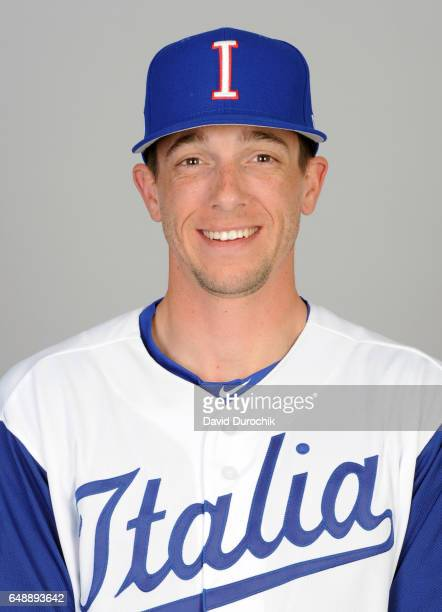 Marco Sabbatani of Team Italy poses for a headshot for Pool D of the 2017 World Baseball Classic on Monday March 6 2017 at Hohokam Stadium in Mesa...