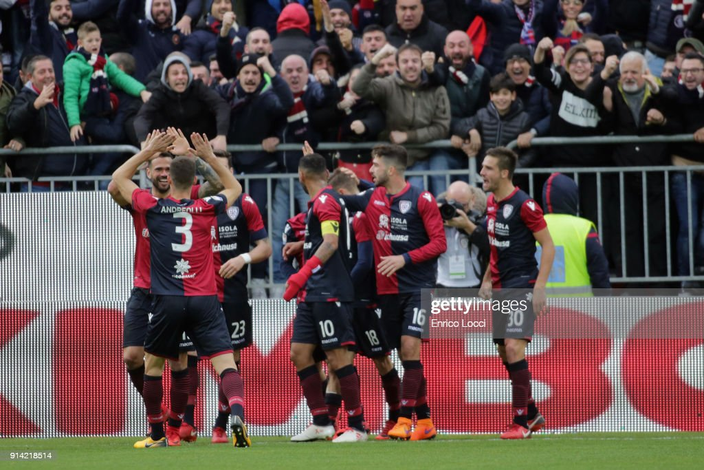 Cagliari Calcio v Spal - Serie A : News Photo