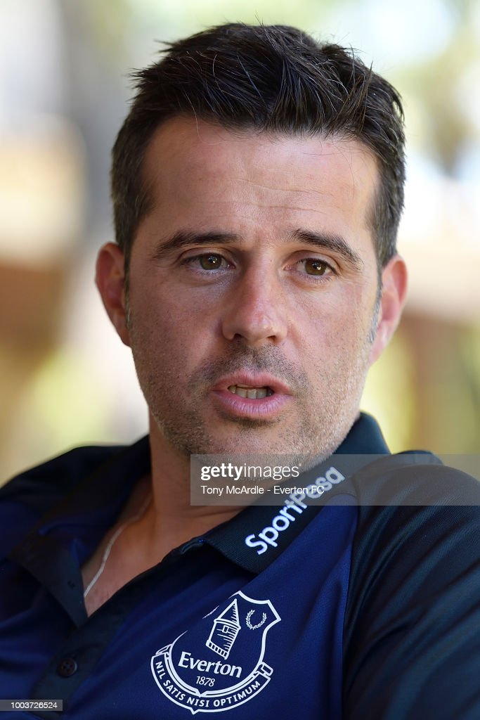 Everton Manager Marco Silva Speaks To The Press
