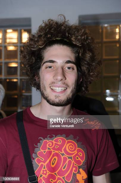 ACCESS** Marco Simoncelli attends the XIX Partita Del Cuore charity football game at on May 25 2010 in Modena Italy