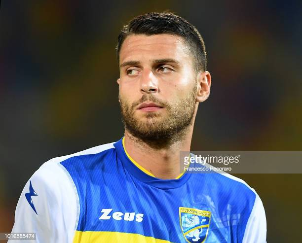 Marco Sportiello of Frosinone Calcio in action during the PreSeason Friendly match between Frosinone Calcio and Real Betis on August 9 2018 in...