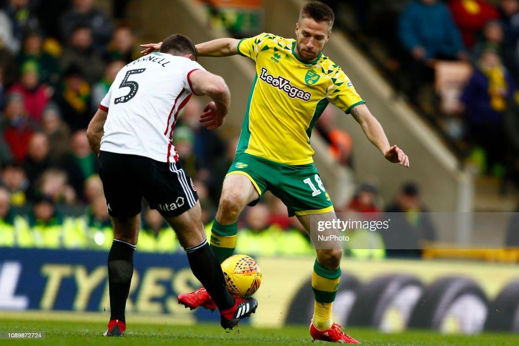 Norwich City v Sheffield United - 2019 EFL Championship Football : News Photo