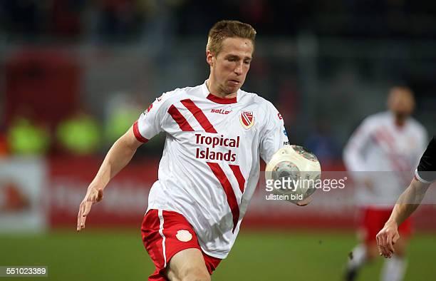 Marco Stiepermann, Einzelbild, Aktion , FC Energie Cottbus, zweite Bundesliga, Sport, Fußball Fussball, Stadion der Freundschaft Cottbus, Herren,...