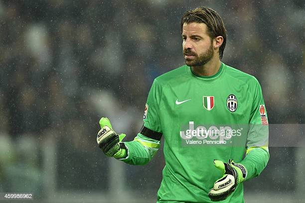 Marco Storari of Juventus FC looks on during the Serie A match between Juventus FC and Torino FC at Juventus Arena on November 30 2014 in Turin Italy