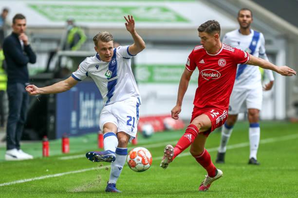 DEU: Fortuna Düsseldorf v Karlsruher SC - Second Bundesliga