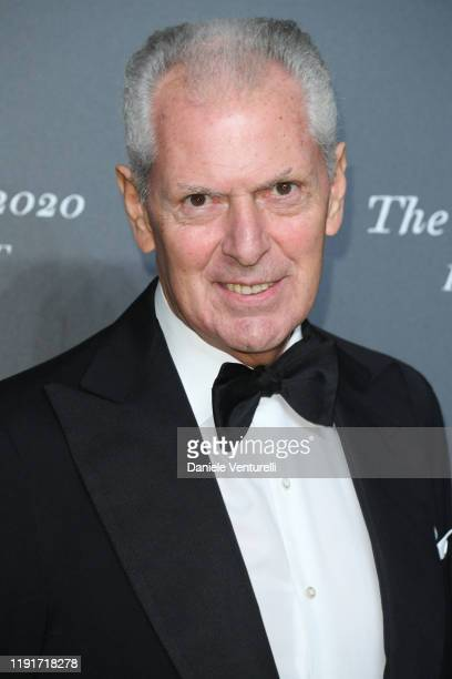 """Marco Tronchetti Provera attends the presentation of the Pirelli 2020 Calendar """"Looking For Juliet"""" at Teatro Filarmonico on December 03, 2019 in..."""