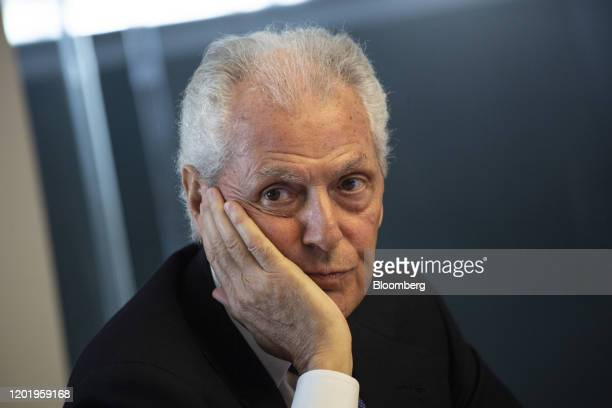 Marco Tronchetti Provera, chief executive officer of Pirelli & C. SpA, pauses during an investor day in Milan, Italy, on Wednesday, Feb. 19, 2020....