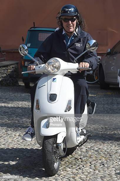 Marco Tronchetti Provera is seen on April 26, 2014 in Portofino, Italy.