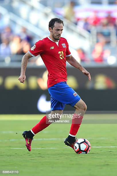 Marco Urena of Costa Rica runs with the ball during the 2016 Copa America Centenario Group A match between Costa Rica and Paraguay at Camping World...