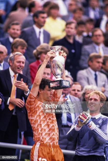 Marco VAN BASTEN URSS / Pays Bas Finale Championnat d'Europe 1988 Munich Photo Alain de Martignac / Icon Sport