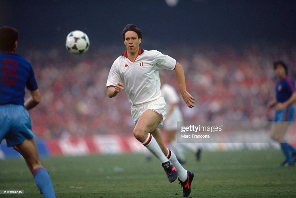 MARCO VAN BASTEN HOLLAND & AC MILAN 22 June 1992 Stock