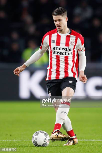 Marco van Ginkel of PSV during the Dutch Eredivisie match between PSV v ADO Den Haag at the Philips Stadium on December 16 2017 in Eindhoven...