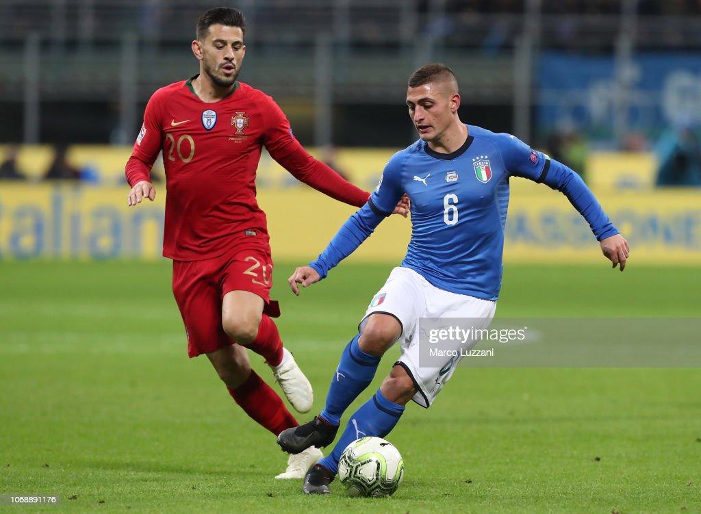Italy v Portugal - UEFA Nations League A : Photo d'actualité
