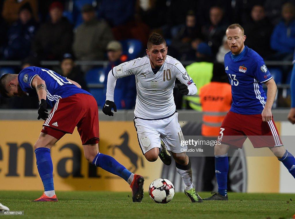 Liechtenstein v Italy - FIFA 2018 World Cup Qualifier : News Photo
