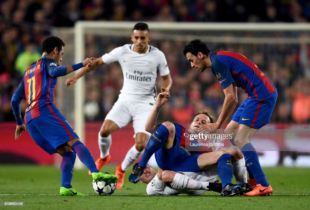 FC Barcelona v Paris Saint-Germain - UEFA Champions League Round of 16: Second Leg : Fotografía de noticias