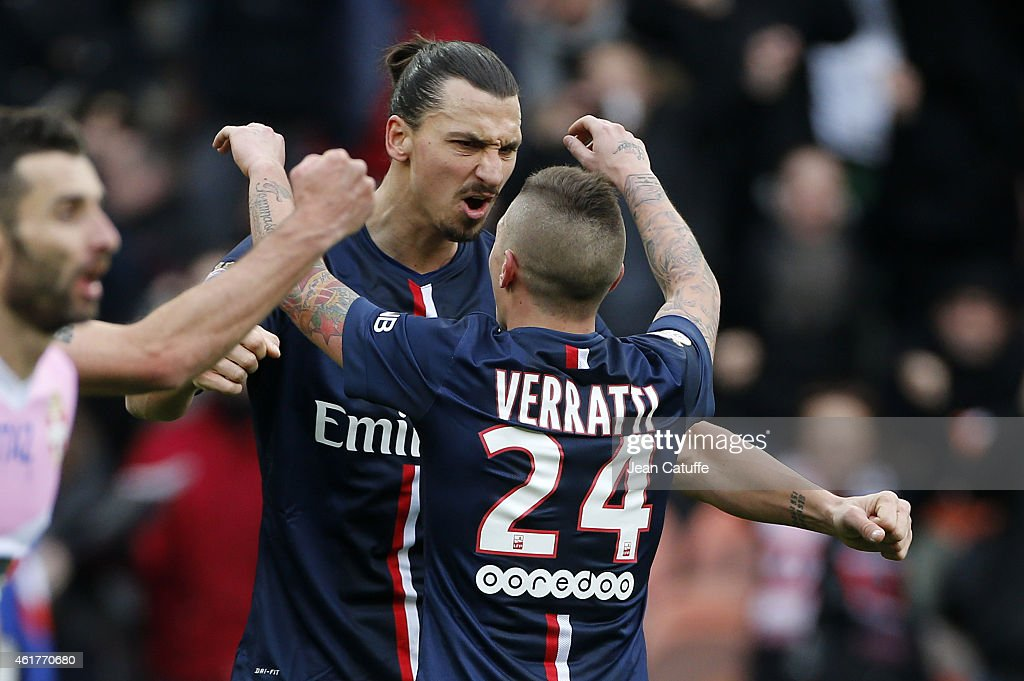 Paris Saint-Germain FC v Evian Thonon Gaillard FC - Ligue 1 : News Photo