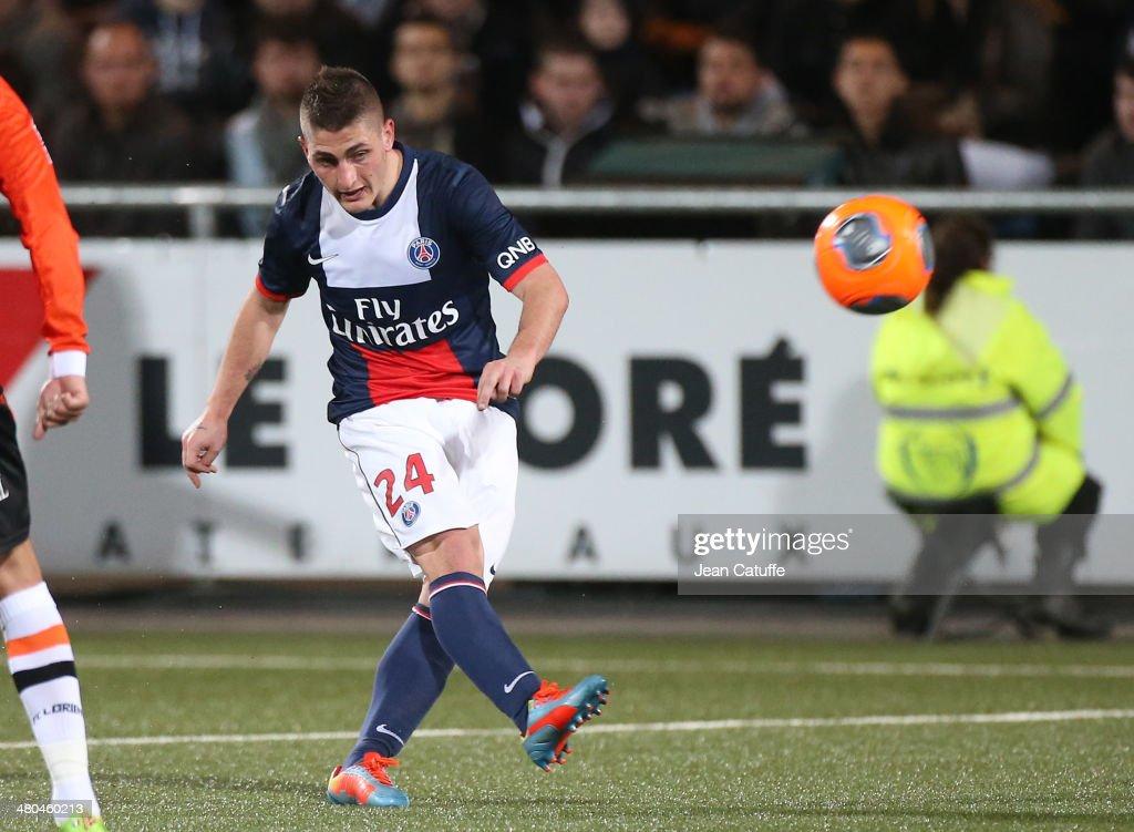 FC Lorient v Paris Saint-Germain FC - Ligue 1 : News Photo