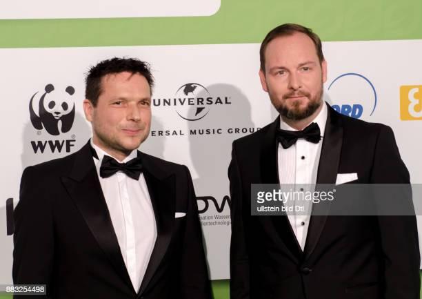 Marco Voigt und Sven Krüger die Initiatoren der GreenTec Awards 2015 im Tempodrom Berlin am