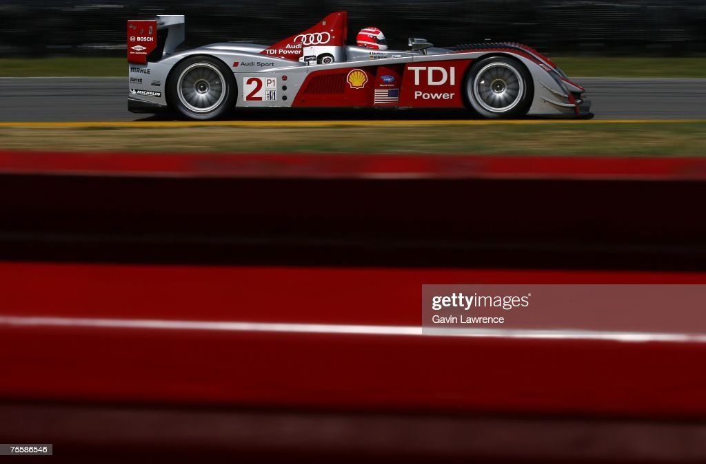 Marco Werner Driver Of The #2 Audi Sport North America Audi AG R10/TDI Photo